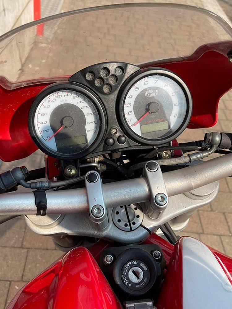 Costantini Moto Ducati Monster S2r 695 2005 Cruscotto