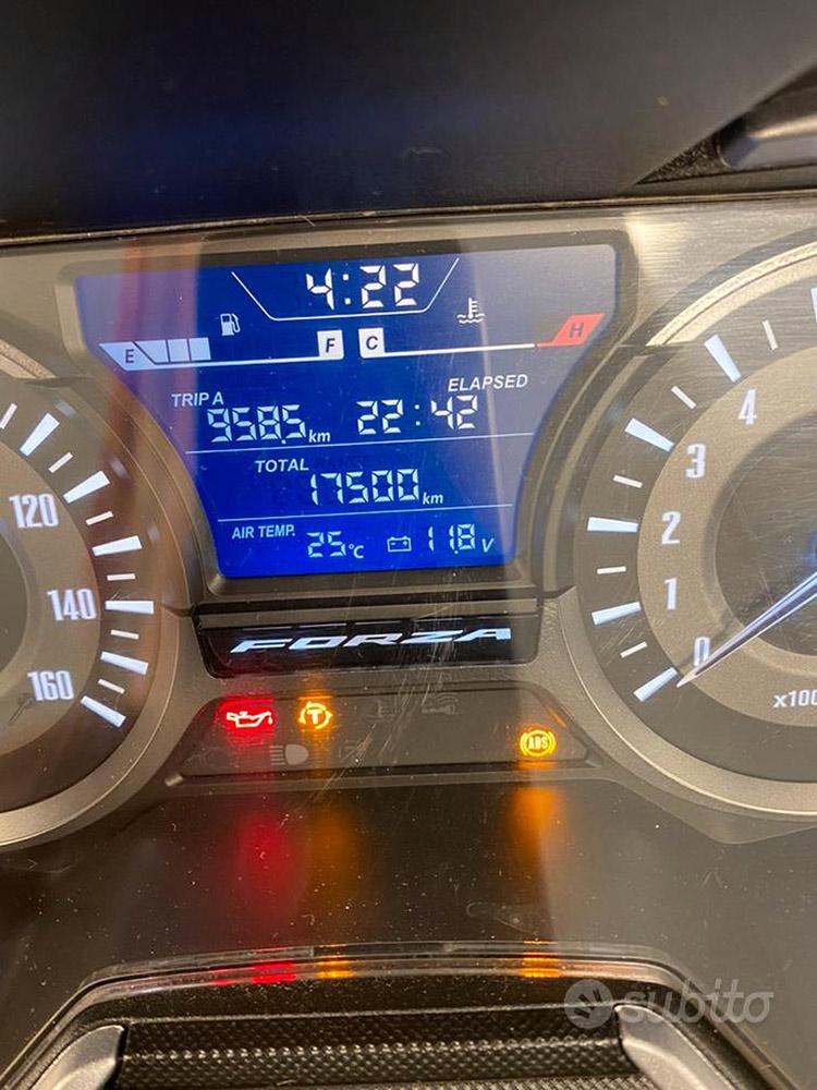 Honda Forza 300 2019 Chilometraggio