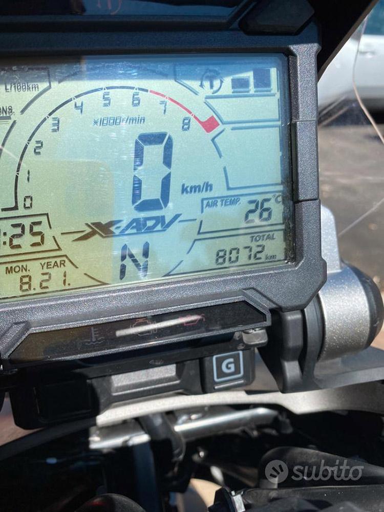 Costantini Moto Honda X-adv 750 Abs 2019 Cruscotto