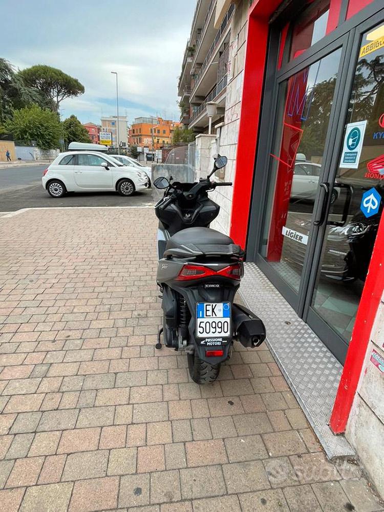 Costantini Moto Kymco X-town 300 Abs 2017 Posteriore