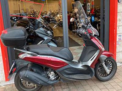 Piaggio Beverly 300s Rosso