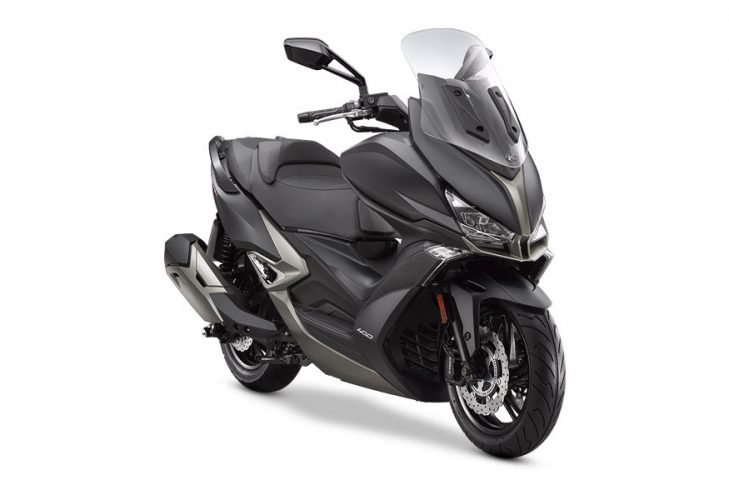 Kymco Xciting 400i S Frontale Laterale