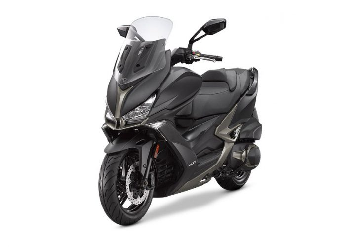 Kymco Xciting 400i S Frontale Laterale Sinistro