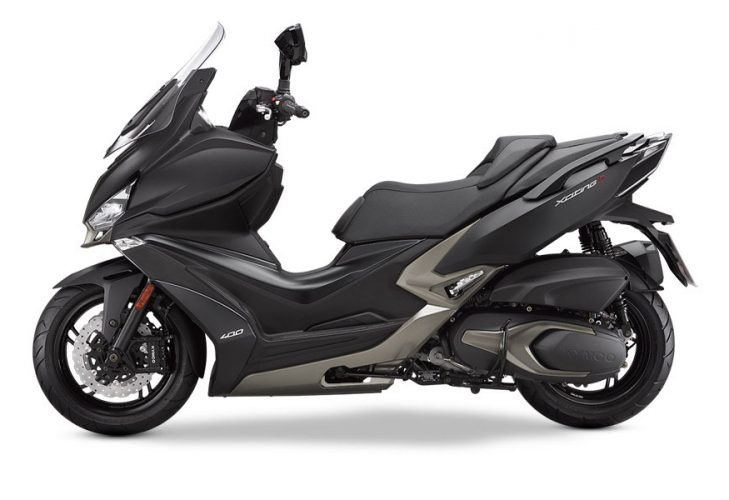 Kymco Xciting 400i S Laterale Sinistro
