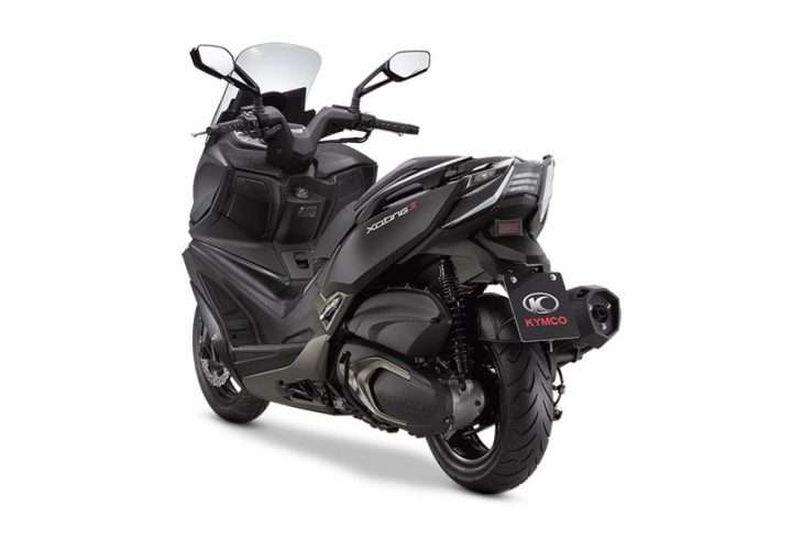 Kymco Xciting 400i S Posteriore Laterale Sinistro