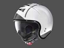 Nolan N21 95 Metal White